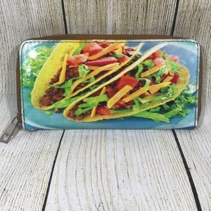 Handbags - Taco Zipped Clutch Wallet